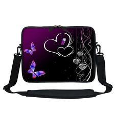 Neoprene Laptop Bag Case with Shoulder Strap Fit  Chromebook Netbook 1810