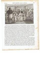 "1825 Sant'Agostino d'Ippona ""Saint Augustin"" (Augustinus Hipponensis Tagaste)"
