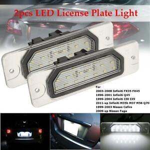 LED Kennzeichenbeleuchtung Nummernschildbeleuchtung für Nissan & Infiniti A532