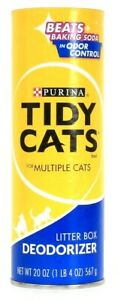 1 Count Purina 20 Oz Tidy Cats For Multiple Odor Control Litter Box Deodorizer