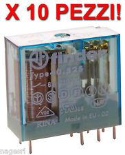 10 PEZZI - Finder 40.52 48V DC 8A - Relè miniatura miniaturizzato Relay Relais