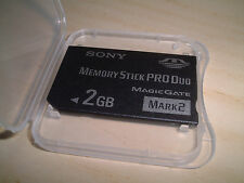 SONY 2GB Memory Stick PRO Duo for Sony Cyber-shot DSC-W180 W190