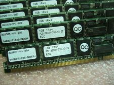 QTY 1x 1GB DDR2 PC2-3200R-333 1Rx4 ECC Registered Server memory Low Profile