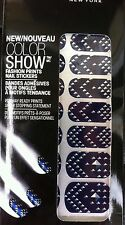 MAYBELLINE Color Show #60 Sapphire Jewels Fashion prints 18 Nail Stickers