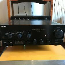Integrated Stereo Amplifier  Sony TA-V7700