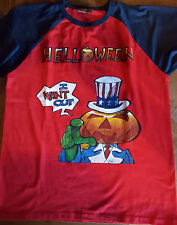 T SHIRT HELLOWEEN rare collector I want out dr stein xl