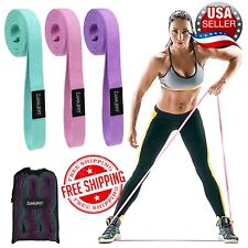 Zuma Fit Exercise Fitness Whole Body Long Resistance Bands 3 Loop Workout Set