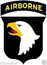 ARMY 101ST AIRBORNE DIVISION BUMPER STICKER TOOL BOX STICKER