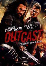 Outcast DVD, 2015,  Nicolas Cage, Hayden Christensen, Sealed,slipcover