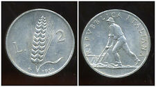 ITALIE   ITALY  2 lire  1950