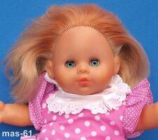Zapf poupée de 1992 rotblond vinyle 40 cm doll bébé