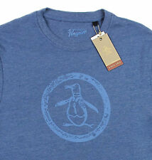 Men's PENGUIN Vintage Logo Blue T-Shirt Tee Shirt Medium M NWT NEW