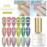 BORN PRETTY 6ml Magnetic UV Gel Nail Polish Pink Semi-transparent Soak Off Gel