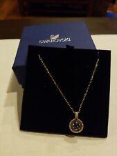 Swarovski Oxygen Pendant (Gray/Rose Gold Plating) Necklace NWT $89