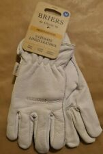 Briers Ultimate Lined Leather Gardening Gloves, Work Gloves, Unisex Winter Glove