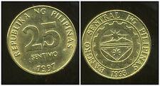 PHILIPPINES  25 sentimo 1997