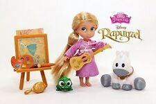 Disney Animators Collection Rapunzel Tangled Mini Doll Play Set
