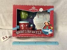 Hallmark Bake Like an Elf Kit with 5  Recipe Cards & STORIES BEHIND THEM ,NEW