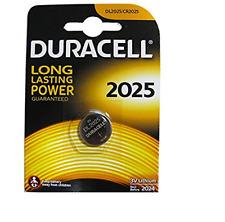 1 pila batteria CR2025 DURACELL CR2025 DL2025 ECR2025 2025  3V LITIO sped tracc