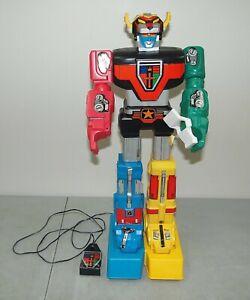 "Vtg 1984 LJN 25"" ""VOLTRON"" Remote Control MOTORIZED ROBOT /*Non-Working**READ*!!"