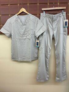 NEW Men's Cherokee Khaki Solid Scrubs Set With Medium Top & Medium Pants NWT