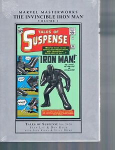Marvel Masterworks Invincible Iron Man Vol 1 by Heck, Kirby, Ditko & Lee HC new