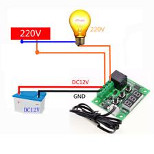 New Digital Display Thermostat Temperature Control Switch Sensor Module W1209 OZ