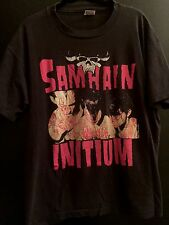 Samhain Initium Shirt XL 1990 Edition Vtg danzig misfits black flag slayer