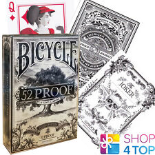 ELLUSIONIST 52 PROOF PROHIBITION DECK V2 PLAYING CARDS MAGIC BICYCLE TRICKS NEW