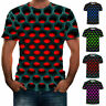 Funny Hypnosis 3D T-Shirt Men Women Graphic Casual Fashion Short Sleeve Tee Tops