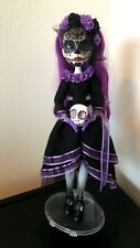Customized Doll/Repainted Monster High Doll/Ooak Doll/Repainted Spectra V.