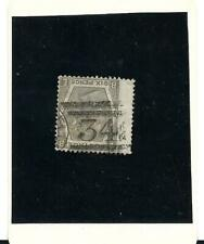 Great Britain Queen Victoria 6d Grey SG 125 plate 12 watermark  spray Used