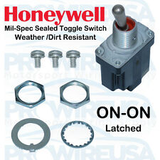 Honeywell Sealed MilSpec ON-ON Toggle Switch MS24523-23 1TL1-3 Nascar Switch