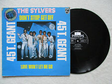 "MAXI 45T THE SYLVERS ""Don't stop, get off"" PHILIPS 9198 094 FRANCE §"