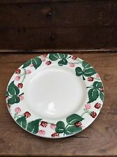 "Emma Bridgewater Wiveton Hall Raspberry  8.5"" Plate - new 1st"