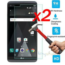2Pc 9H HD Premium Tempered Glass Screen Protector Film Guard For LG V20 2016