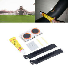 1 Set Mini Cycling Bike Bicycle Repair Tire Tyre Levers Tool Kit Rubber Patches