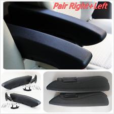2x Leather Car Truck Armrest Console Arm Rest Caravan Seat Part Extended version
