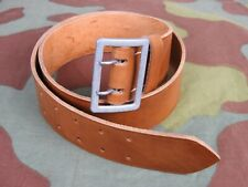 Cinturone pelle ufficiale tedesco, quality German WW2 officer brown leather belt