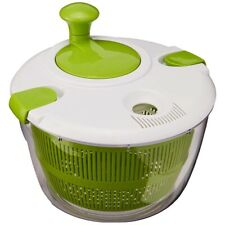Ctg-00-Sas Salad Spinner, Green And White A9Z1