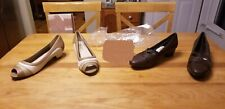 2 Pr NEW Women Sz 8.5M Comfort Well by Beacon in Tan/cream/taupe & Brown