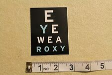 ROXY Eyewear Sunglasses Shades Hawaii Quicksilver Vintage Surfing Decal STICKER