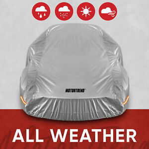 Motor Trend All Weather Waterproof Car Cover - Advanced Protection Formula Small