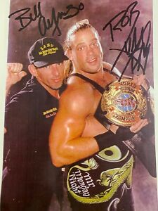 SIGNED RVD AND BILL ALFONSO ECW 8.5x11