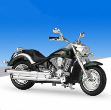 1:18 Maisto Kawasaki Vulcan 2000 Motorcycle Bike Model New In Box Green