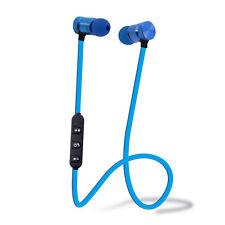 Wireless Sport Bluetooth Stereo Magnetic Headphone Earbuds Headset Earphone