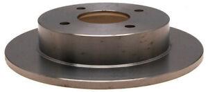 Disc Brake Rotor-Non-Coated Rear|ACDelco Advantage 18A104A - Fast Shipping