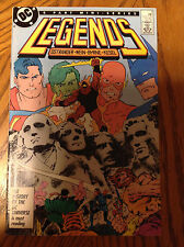 Legends #3 - 1986 Mini Series - 1st Appearance New Suicide Squad