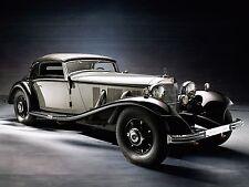 "1935 Mercedes Benz 500K Cabriolet A luxury Mini Poster 24"" x 36"" HD"