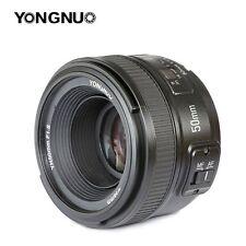 Yongnuo YN50MM 50mm f/1.8 AF MF Nikon Objetivo Lens para cámaras DSLR D500 D700